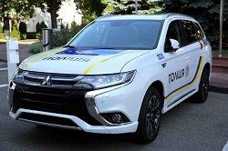 Названа остаточна вартість Mitsubishi Outlander для української поліції