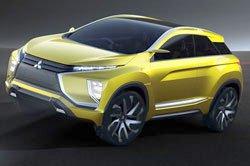 Новый электрический кроссовер Mitsubishi