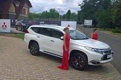 В Україну приїхав новий Mitsubishi Pajero Sport