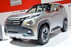 Презентация концептуальных моделей Mitsubishi с гибридным приводом